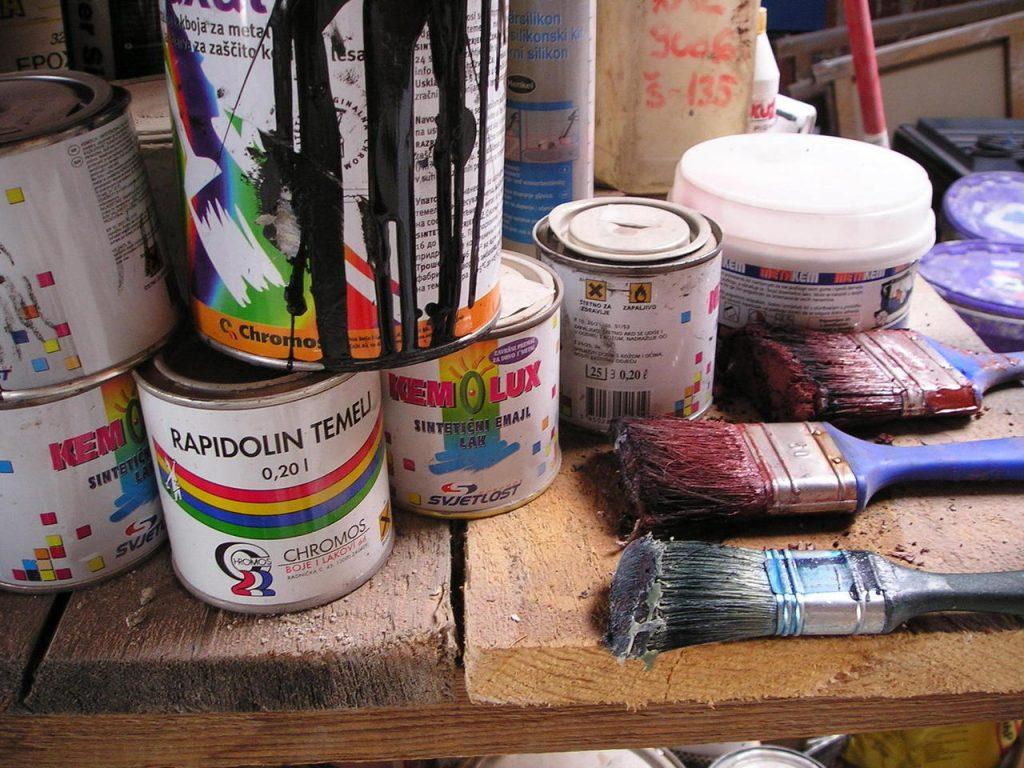 Jakie narzędzia są potrzebne do malowania?