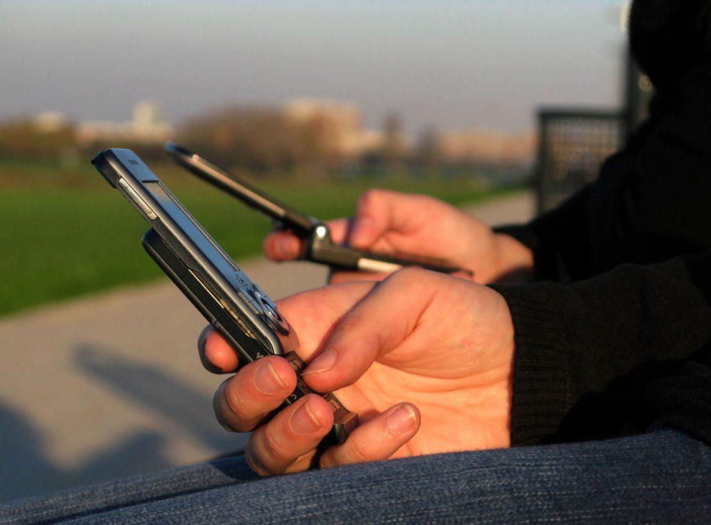 Odchudzanie się z telefonem